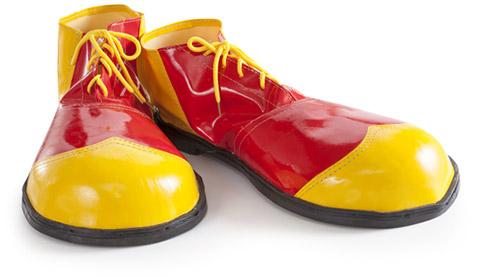 Zapatos de payasos