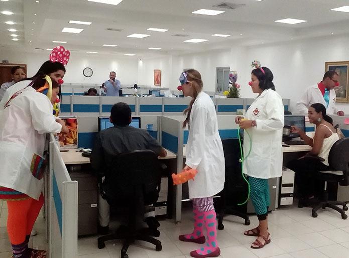 Visitas Institucionales de los Payasos de Hospital