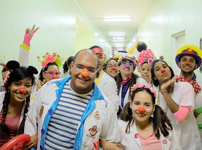Voluntarios de la Fundación Misión Felicidad